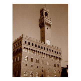 Palazzo Vecchio Postcard