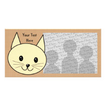 Pale Amber Color Cat. Card