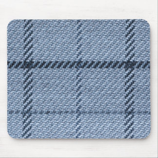 Pale and dark blue nodes in square style mouse pad