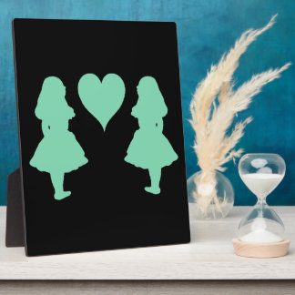 Pale Baby Blue Alice to Alice Plaque