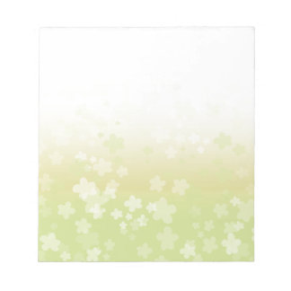 Pale Blossoms Notepad