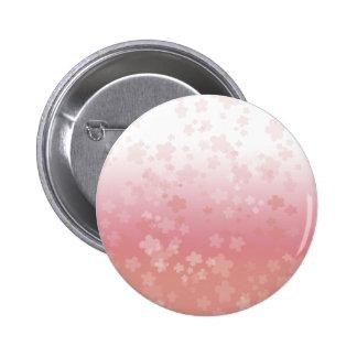 Pale Blossoms Pink Pinback Button