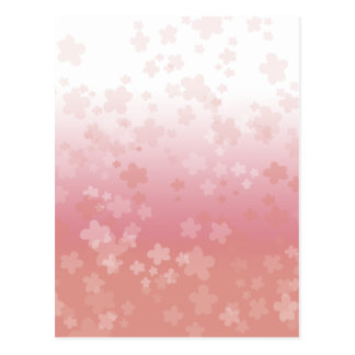 Pale Blossoms Pink Postcard