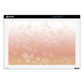 "Pale Blossoms Sunset 17"" Laptop Decals"