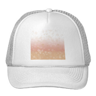 Pale Blossoms Sunset Trucker Hat