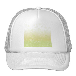 Pale Blossoms Yellow Trucker Hat