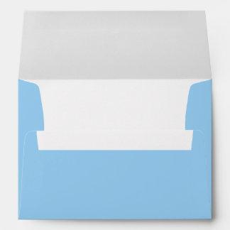 Pale Blue A7 Envelope