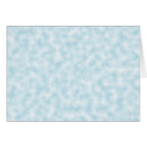 Pale Blue and White Abstract Clouds Pattern