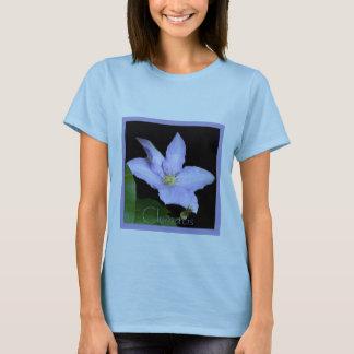 Pale Blue Clematis T-Shirt
