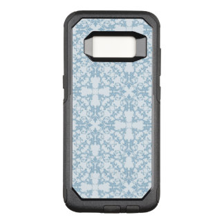 Pale Blue Damask OtterBox Commuter Samsung Galaxy S8 Case