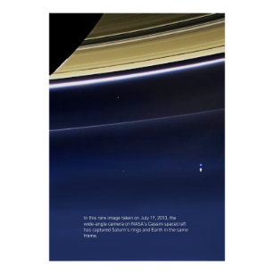 Print NASA Voyager Poster Wall Art The Voyagers Reaching for the Stars