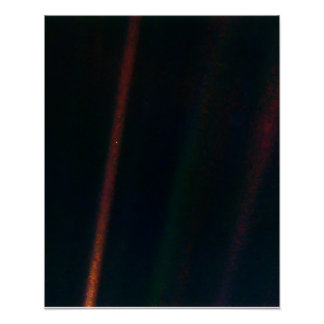 Pale Blue Dot Clean Poster