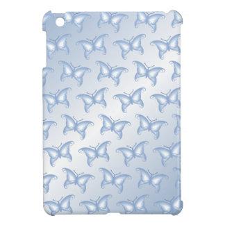 Pale Blue Fantasy Butterflies iPad Mini Case