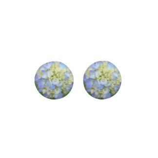 Pale Blue Hydrangea Earrings