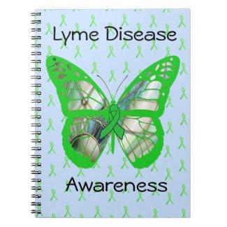 Pale Blue Lime Green Lyme Disease Awareness Ribbon