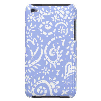 Pale Blue Pip cell phone case