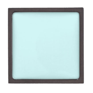 Pale Blue Premium Trinket Box