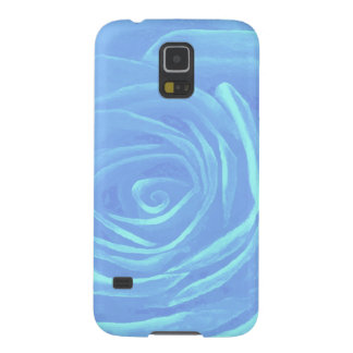 Pale Blue Rose Galaxy S5 Cover