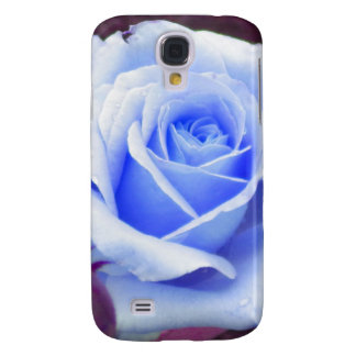 Pale Blue Rose iPhone 3 case