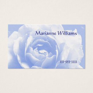 Pale Blue Rose Mommy Card