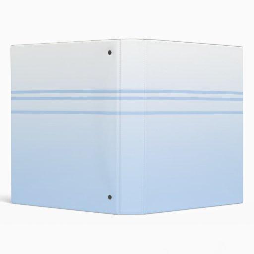 Pale Blue Simple Elegant Design. Binder
