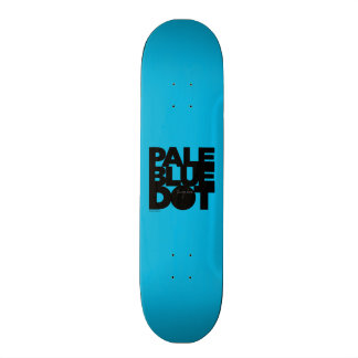 Pale Blue Skateboard