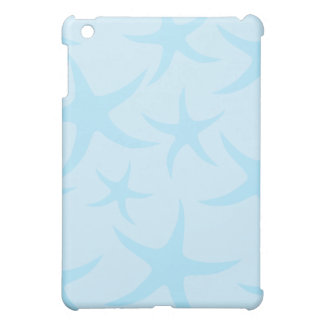 Pale Blue Starfish Pern. Cover For The iPad Mini