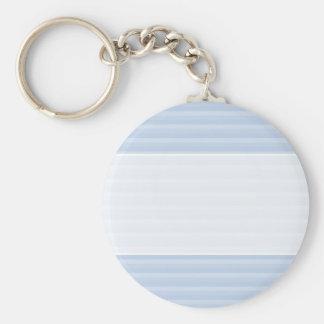 Pale Blue Stripes. Key Chains