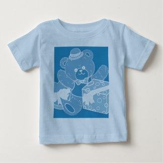 Pale Blue Teddy Bear for Boys Baby T-Shirt