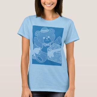 Pale Blue Teddy Bear for Boys T-Shirt