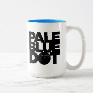 Pale Blue Two-Tone Coffee Mug