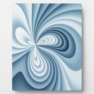 Pale Blue Waves Plaque