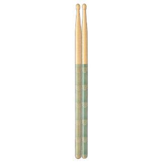 pale blue,white lace,template,add text monogram,tr drum sticks
