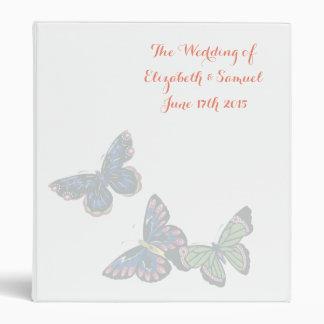 Pale Butterflies - Personalized Binder