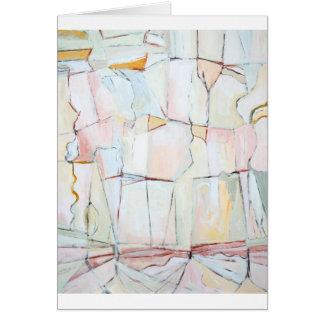 Pale Color Fragmental Landscape Card