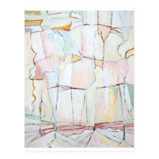 Pale Color Fragmental Landscape Post Cards