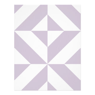 Pale Cool Grape Geometric Cube Scrapbook Paper