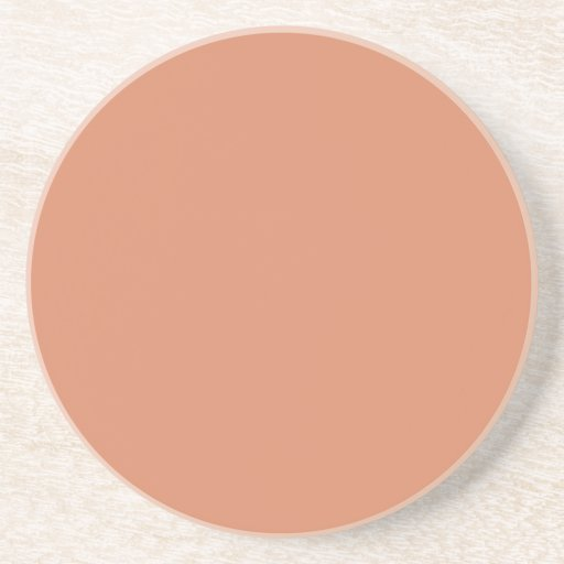 Pale Copper Drink Coasters