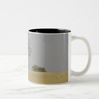 Pale Desert Two-Tone Coffee Mug