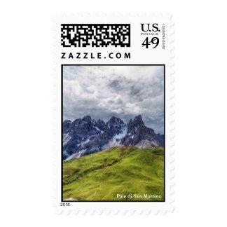 Pale di San Martino Stamps