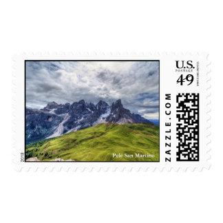 Pale di San Martino Stamp