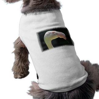 Pale Flamingo Dog Shirt