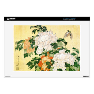 Pale Flowers Laptop Decal
