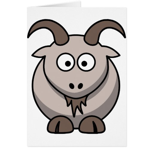 Pale goat card
