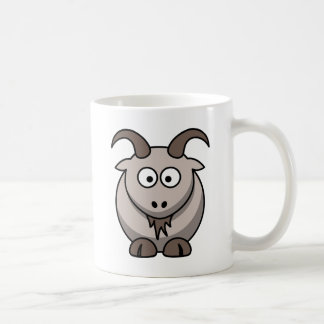 Pale goat classic white coffee mug