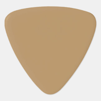 Pale Gold Guitar Pick
