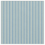 [ Thumbnail: Pale Goldenrod and Blue Colored Pattern Fabric ]