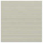 [ Thumbnail: Pale Goldenrod and Grey Pattern Fabric ]