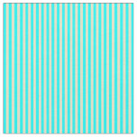 [ Thumbnail: Pale Goldenrod & Cyan Colored Lined Pattern Fabric ]