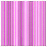 [ Thumbnail: Pale Goldenrod & Fuchsia Lines Fabric ]